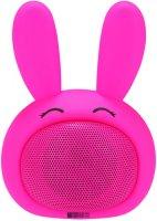 Портативная колонка InterStep SBS-150 Funny Bunny, розовый (IS-LS-SBS150PIN-000B201)