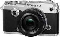 Системный фотоаппарат Olympus PEN-F Silver + 14-42mm Black Kit