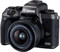 Системный фотоаппарат Canon EOS M5 EF-M15-45 IS STM Kit (1279C012)