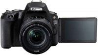 Зеркальный фотоаппарат Canon EOS 200D EF-S 18-55mm IS STM Kit Black (2250C002)