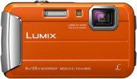 Компактный фотоаппарат Panasonic Lumix DMC-FT30 Orange