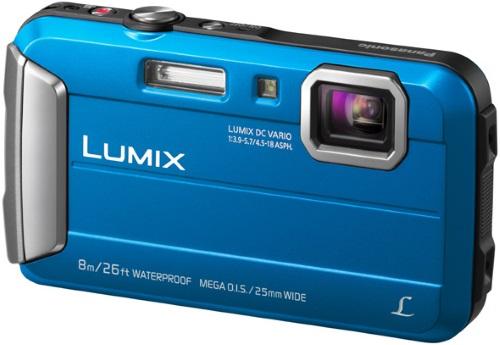 Купить Компактный фотоаппарат Panasonic, Lumix DMC-FT30 Blue (DMC-FT30EE-A)