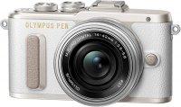 Системный фотоаппарат Olympus E-PL8 White + 14-42 EZ Silver (V205082WE000)