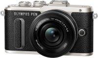 Системный фотоаппарат Olympus E-PL8 Black + 14-42 EZ Black (V205082BE000)