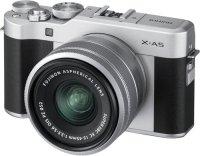 Системный фотоаппарат Fujifilm X-A5 Kit 15-45 F3.5-5.6 Silver (16570265)