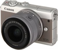 Системный фотоаппарат Canon EOS M100 EF-M15-45 IS STM Kit Grey (2211C012)