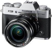 Цифровой фотоаппарат Fujifilm X-T20 KIT 18-55 Silver