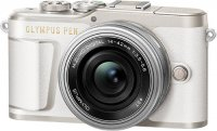Системный фотоаппарат Olympus E-PL9 White + 14-42mm EZ Silver (V205092WE000)