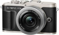 Системный фотоаппарат Olympus E-PL9 Black + 14-42mm EZ Silver (V205092BE000)