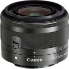 Объектив Canon EFM 15-45mm f/3.5-6.3 IS STM Black (0572C005)