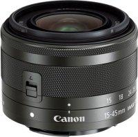 Объектив Canon EFM 15-45mm f/3.5-6.3 IS STM Black (0572C005)