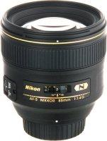 Объектив Nikon AF-S Nikkor 85mm f/1.4G (JAA338DA)