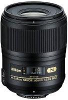 Объектив Nikon 60mm f/2.8G AF-S ED Micro Nikkor (JAA632DB)