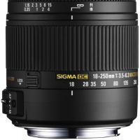 SIGMA AF 18-250MM F3.5-6.3 DC MACRO OS HSM CANON