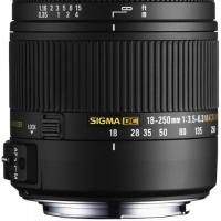 SIGMA AF 18-250MM F3.5-6.3 DC MACRO OS HSM CANON
