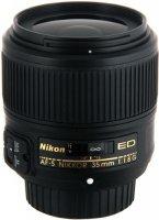 Объектив Nikon 35mm f/1.8G AF-S Nikkor (JAA137DA)