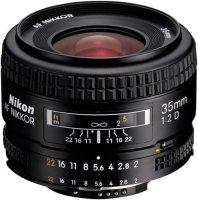 Объектив Nikon 35mm f/2D AF Nikkor (JAA129DA)