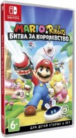 Игра для Nintendo Switch Ubisoft Mario + Rabbids Kingdom Battle