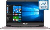 "Ноутбук ASUS ZenBook UX410UA-GV399T (Intel Core i5-8250U 1.6GHz/14""/1920х1080/8Gb/512Gb/Intel HD Graphics 620/Отсутствует/Wi-Fi/Bluetooth/Win 10 Home х64)"
