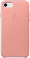 Чехол Apple Leather Case для iPhone 8/7 Soft Pink (MRG62ZM/A) фото