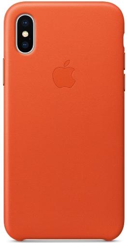 Чехол для смартфона Чехол Apple Leather Case Для Iphone X Bright Orange (Mrgk2Zm/A) Москва