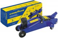 Купить Домкрат подкатной гидравлический Goodyear, GY-PD-02, 2 т. (GY000903)