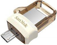 USB-флешка SanDisk Ultra Android 32GB DD OTG m3.0/USB 3.0 White/Gold (SDDD3-032G-G46GW)