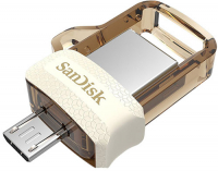 SANDISK ULTRA ANDROID 32GB DD OTG M3.0/USB 3.0 WHITE/GOLD (SDDD3-032G-G46GW)