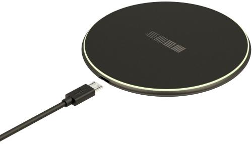 Беспроводное зарядное устройство InterStep QI 10W Black (IS-TC-QICHRB10W-000B201)