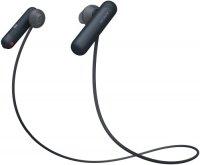 Наушники с микрофоном Sony WI-SP500 Black