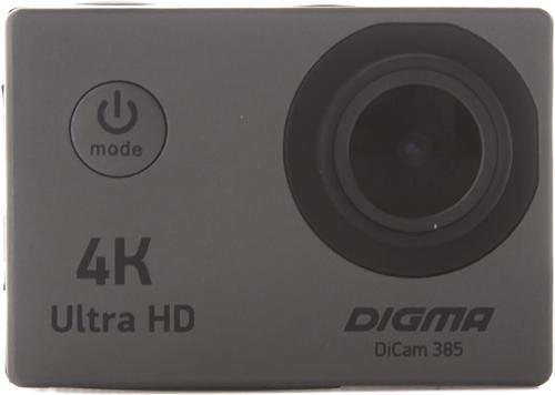 Купить Экшн-камера Digma, DiCam 385 Grey