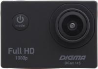Экшн-камера Digma DiCam 145 Black фото
