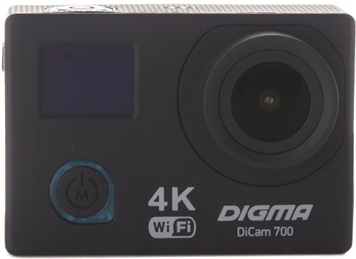 Купить Экшн-камера Digma, DiCam 700 Black