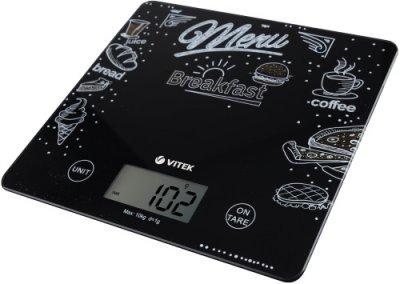 Купить кухонные весы VITEK VT-2427 в интернет-магазине ЭЛЬДОРАДО. Цена VITEK VT-2427, характеристики, отзывы