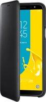 Чехол Samsung Flip Wallet Cover для Galaxy J6 (2018), черный (EF-WJ600CBEGRU)