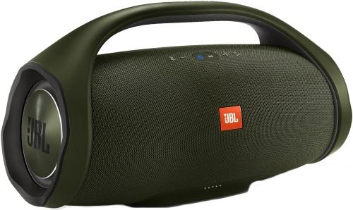 Купить Портативная акустика JBL, Boombox Green + беспроводные наушники JBL Duet...