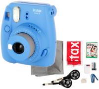 Фотоаппарат моментальной печати Fujifilm instax Mini 9 Blue (Cobalt Set Champion)
