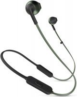 Беспроводные наушники с микрофоном JBL T205BT Dark Green
