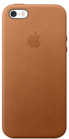 Купить Чехол Apple, Leather Case для iPhone SE Saddle Brown (MNYW2ZM/A)