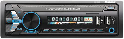 Купить Автомагнитола Digma, DCR-390B