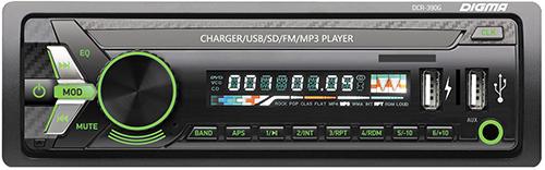 Купить Автомагнитола Digma, DCR-390G