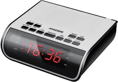 Часы с радио H-RCL100 - купить часы с радио Hyundai H-RCL100 по выгодной цене в интернет-магазине ЭЛЬДОРАДО с доставкой в Москве и регионах России