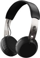 Беспроводные наушники с микрофоном Skullcandy Grind Wireless Black/Chrome (S5GBW-J539)