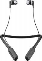 Беспроводные наушники с микрофоном Skullcandy Ink'd 2.0 Wireless Black/Gray (S2IKW-J509)