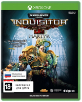 Игра для Xbox One Bigben Interactive Warhammer 40.000: Inquisitor-Martyr. Standart Edition фото