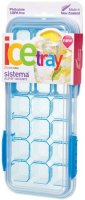 Форма для льда Sistema Klip It Ice Tray Accents Large Blue (61448)