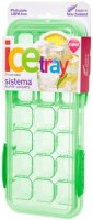 Форма для льда Sistema Klip It Ice Tray Accents Large Green (61448)