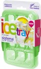 Контейнер для льда Sistema Klip It Ice Tray Accents Medium Green (61445)