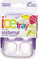 Контейнер для льда Sistema Klip It Ice Tray Accents Small Violet (61440)