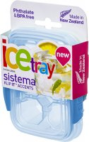 Контейнер для льда Sistema Klip It Ice Tray Accents Small Blue (61440)